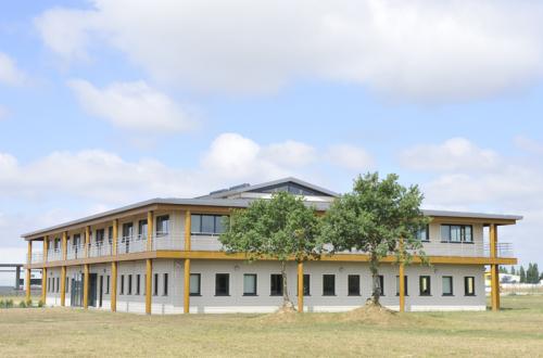 Le bâtiment Bio Habitat